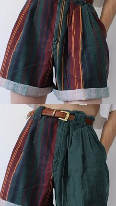 Hippie Outfits, Retro Outfits, Cute Casual Outfits, Vintage Outfits, 80s Inspired Outfits, Vintage Pants, Aesthetic Fashion, Aesthetic Clothes, Indie Scene Outfits