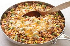 Southwestern Beef Skillet (Katie recommended)