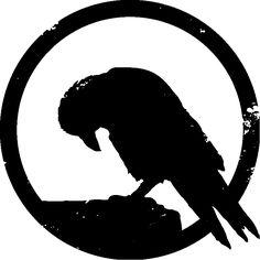 Crow Drawings | ... to the crow logo: www.artofdyingmusic.com/artofdyingmusic.com/crow.jpg