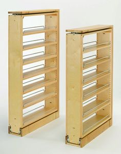 "Rev-A-Shelf 432-TF39-6C 432 Series 39"" Tall Filler Pull Out with Adjustable Shelves"