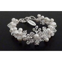 Ornara ® Design Brautschmuck Armband Zuchtperlen