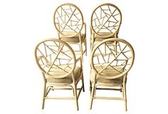 McGuire Rattan Chairs 2