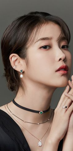 Girl Photo Poses, Girl Photos, Korean Drama Funny, Watercolor Mermaid, Kim Sejeong, Korean Products, Iu Fashion, Pearl Earrings, Drop Earrings