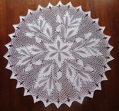 free pattern on ravelry...both charted & written Frosted ferns 007 by lv2knit, via Flickr