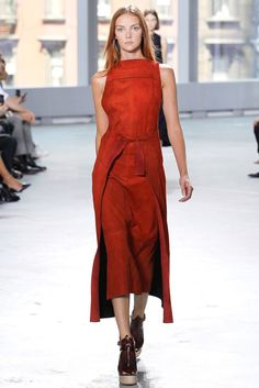 Proenza Schouler Spring 2014 Ready-to-Wear Fashion Show - Heather Marks
