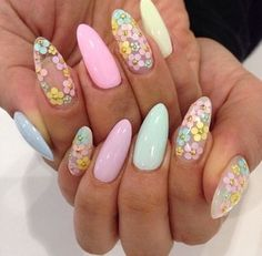 Nail Art Designs for Easter Beautiful 50 Best Easter Nail Art Designs Ideas Trends & Stickers – Cynthia Nail Designs Perfect Nails, Gorgeous Nails, Pretty Nail Designs, Nail Art Designs, Nail Art Modele, Manicure, Uñas Fashion, Easter Nail Art, Cute Nail Art