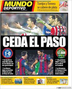 Portada Mundo Deportivo 8/03/2015