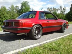 Redfire Foxbody Mustang Coupe..... - SVTPerformance