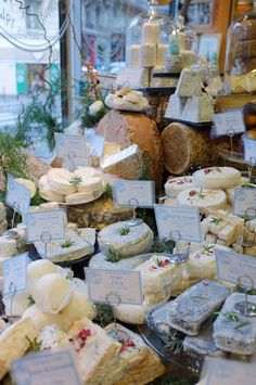 Cheese shop Chez Virginie, Paris, France Stone & Living - Immobilier de prestige - Résidentiel & Investissement // Stone & Living - Prestige estate agency - Residential & Investment www.stoneandliving.com
