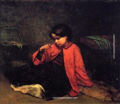 Eastman Johnson The Freedom Ring, painting Authorized official website