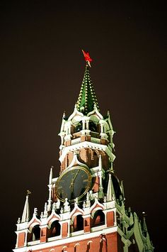 The Spasskaya Tower, The Kremlin, Moscow