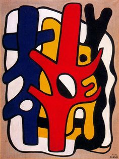 Fernand Léger. Composición 03 [source]✖️More Pins Like This One At FOSTERGINGER @ Pinterest✖️