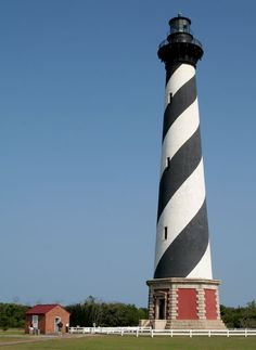 Cape Hatteras Lighthouse- 1 hour 20 minutes south of Kitty Hawk