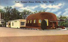 Carl's Famous Brown Derby, Tyler, Texas. Me and brother Joe were there several times as children in the 1950s. It was on Broadway,  the main drag for teenagers on the west side of South Broadway.