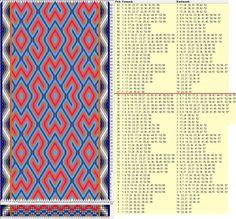 58 tarjetas hexagonales, 9 colores, repite cada 36 movimientos // sed_911_c6 diseñado en GTT༺❁