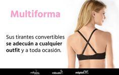 Adapta tu #bra a todas tus necesidades con un #multiforma #Boobs #Bra