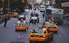 Would love too but sometimes I think I would be over whelmed by how busy it is but then again it's NYC who can resist!!!