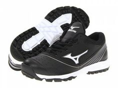 6e5a8df646ea Tênis Mizuno Women s Mizuno Elite Trainer 2 Switch Turf Shoe Black White   Tenis  Mizuno