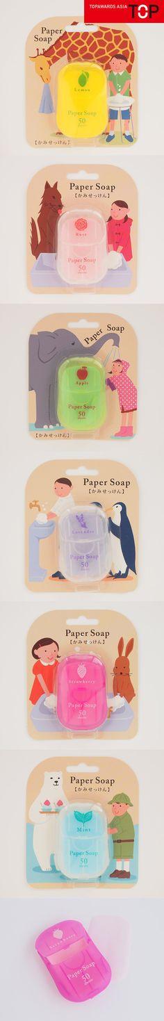 Paper Soap — Topawards Asia