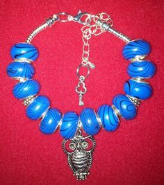 Blue Swirl Owl - £8.99