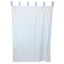 Tadpoles Stripe 84 inch Curtain Panels (Set of 2) - Blue