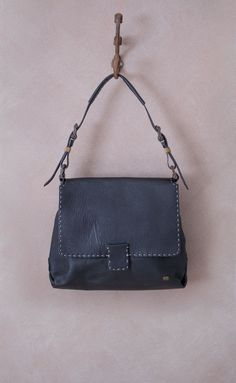 Lwandisa Black Handbag Tsonga Handmade In South Africa