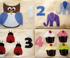 Numbers Quiet Book PDF Pattern by EverydayCelebrations on Etsy