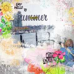 Say  Hello To Summer by Rae at The Lilypad using digital scrapbooking products from The Lilypad