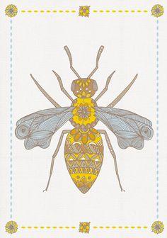 Tatouage abeille