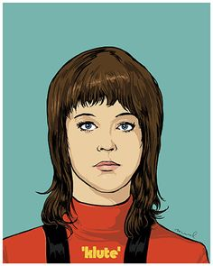 Jane Fonda as Klute. Reimagined 1970s movie posters – in pictures | Art and design | The Guardian