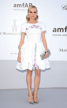 Cannes 2012 amfAR - Diane Kruger in Chanel Resort 2013