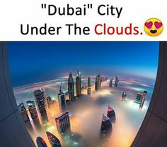 Ohhh my God meand tha buildings are so high that they are crossing the clouds Amazing Places On Earth, Beautiful Places To Travel, Cool Places To Visit, Wonderful Places, Places To Go, Amazing Photography, Nature Photography, Artistic Photography, Interesting Facts About World