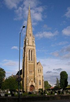 St Maries Church, Rugby, England. Been there I think :)