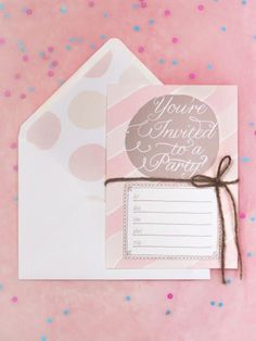 HGTV.com shares free printable party invitations for any occasion.