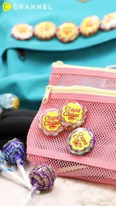 これは可愛すぎる♡チュッパチャプスの「くるみボタン」で小物をポップに演出!