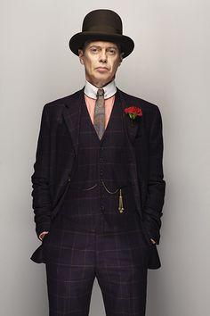 Steve Buscemi by Christian Weber (in Boardwalk Empire Costume)