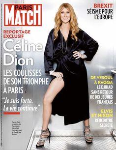 Exclusif Céline Dion. Les coulisses de la Une de Match