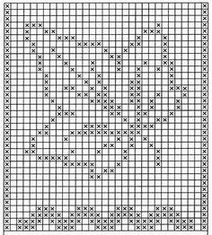 кленовый лист крючком схема для подушки