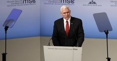 "The vice president arrived at the Munich Security Conference ready to promote President Donald Trump's ""America First"" agenda—but his demands over Venezuela and Iran were not well received Security Conference, Conservative Politics, Open Letter, Foreign Policy, Right Wing, World Leaders, Accusations, Vice President, Munich"