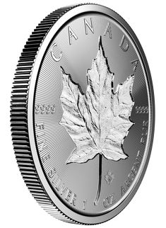 For the first time ever, the Royal Canadian Mint is releasing a Silver Maple Leaf with a unique incuse design on both sides, where the design is actually carved into the surface of the coin. Even though they're not yet available, they've already become a desirable option with silver collectors and investors alike. Never before has there been a modern silver bullion coin with an incuse design, so demand for this first-year-issue has already been surging.
