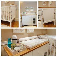 O post de hj é dedicado às futuras mamães de plantão, que estão pesquisando idéias para o quartinho do baby!!!!   Por isso vim mostrar mais...