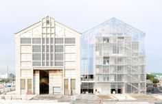 The new Frac Nord-Pas de Calais art centre, designed by the Paris-based architects Lacaton & Vassal.