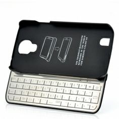 Bluetooth Keyboard Case For Galaxy S4 - Detachable, Ultra Slim. Cool idea