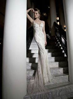 0eaac8831 Stunning wedding dresses by bridal designer extraordinaire
