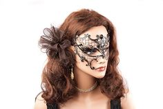 laser cut masquerade masks | Masquerade Masks - Metal Masks - Phantom Mask