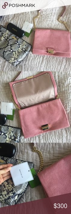 ❤️Final & Only Markdown❤️Kate Spade Handbag Very cute rose and gold purse. I haven't seen this in many places. kate spade Bags