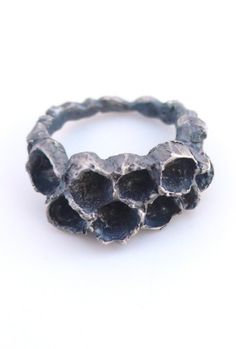 Wasp Nest Ring I: 2012 by Mielle Harvey #jewelry #ring #nature