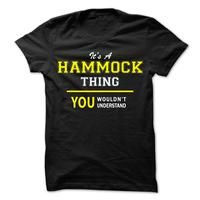 Its A HAMMOCK thing, you wouldnt understand !!