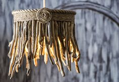 Driftwood Hanging Light Chandelier by MarzaShop