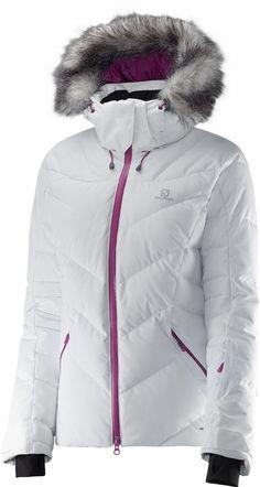 Salomon Icetown Ski/Snowboard Jacket, S, White